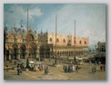 Canaletto, Venezia - Place Saint Marc