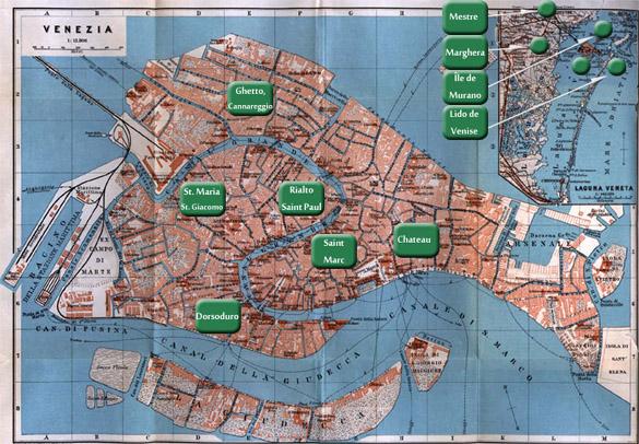 Hotels venise et proximit for Recherche hotel sur carte